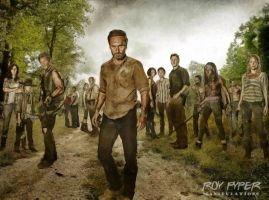 The Walking Dead: Full Cast: Re-Edit by nerdboy69