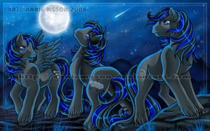 Dark Triplets by AnnieMsson