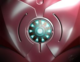Iron Man Chest by SlightlyImperfectPro