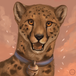 Smile, cheetah, smile by FlashW