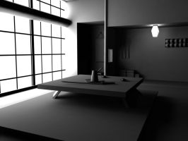 Japanese room by Knale