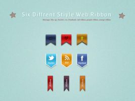 Stiyle Web Ribbon Psd by kiattikun