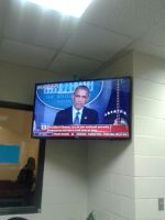 Obama on Fox News 13 by Peterbolt7