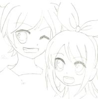 Len and Rin 4ever by artylyn