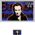 Bruce Springsteen stamp by McKillface