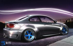 Bmw E92 rocket bunny by Lopi-42