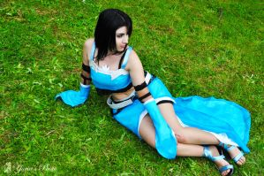 Rinoa Monty Oum cosplay inspired by PrincessRiN0a