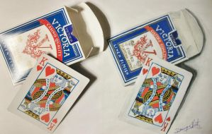 The King of Hearts by Contrast-and-Colour
