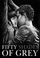 Fifty shades of Grey - poster by Pridipdiyoren