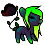 Quick plant pony adopt - OPEN by TRASHYADOPTS