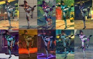 SSF4 Mod - Juri: Kerrigan (Dezerged) by Segadordelinks