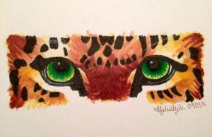 Jaguar Eyes by MadebytheFiz