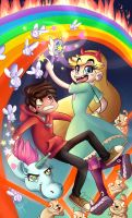 star vs the forces of evil by atachi00