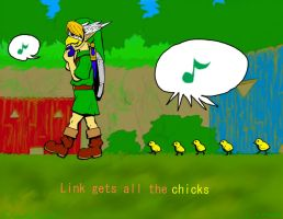 Link Gets All The Chicks by CloudsGirl7