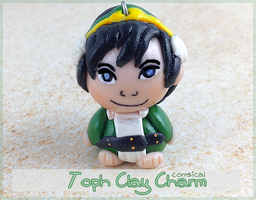 Toph Clay Charm by Comsical