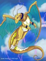 Draico the Dragonite by guardianofire