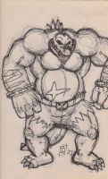 sketch - Kludge ready for some action by fb1907
