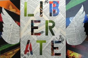 Literate - Liberate by colormekoye