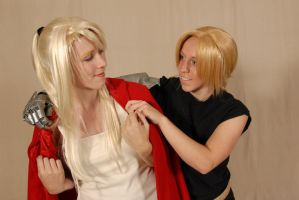 Ed and Winry by Leoma-silfren