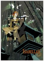 ISABELLAE T.1 Raule/Gabor Ed. Le Lombard.  For nex by Gabor-Bd