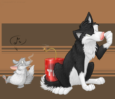My first commission. by Corvis-DA-Account