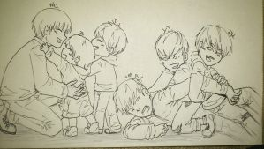 b.a.p family 4 by xphanfy-chanx