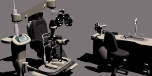 Ophthalmologist Office Equipment by oigaitnas
