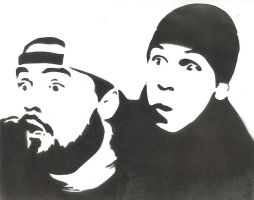 Jay and Silent Bob by kekepk