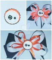 Cute BB8 Hair Bow and Pin by wolf-girl87
