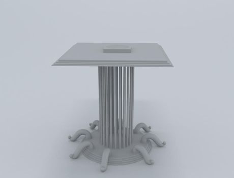 Modeling 3D Table by moudjahad