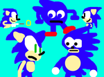 Sonic meets his memes by sonicth4