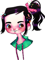 Vanellope by Psych0Chick