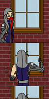 Charlie-Proof Home Security System by ChocosarusRex