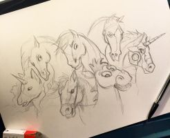 124- My Favorite Equines by Lucky978