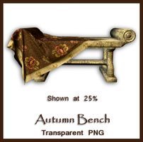 Autumn Bench by shd-stock