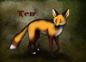 Ten - The Cloudwood Fox character by WolfScribe