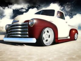 Old chevy truck by finestcall