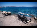 Old Bike And Old Boat by Beezqp
