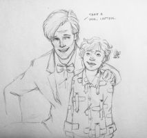 The Doctor and the Wee Captain by lexieken