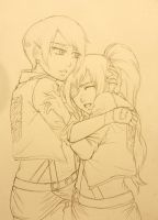 SnK OC: A Comforting Shoulder (Part One) by kaoru-reisaki