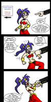 Shantae - Half dragged hero by Niban-Destikim