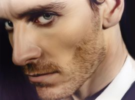 Michael Fassbender by Nadia-Ch