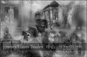 Cemetery Visions PS Brushes by Bound-By-Leather