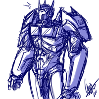 .Optimus Prime. by Kigurou