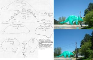 Do-It-Yourself Dinosaur Manual by Kittybriton