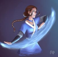 Waterbender: Katara by Faith92
