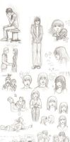 Fall sketch dump History by l-Ataraxia-l