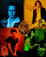 Johnny Depp in Hogwarts by Depporgeus