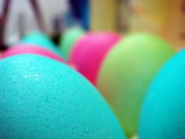 Carton Of Dyed Eggs I by LDFranklin