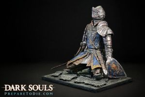 Dark Souls Knight sculpture by futantshadow